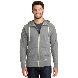 New Era® Sueded Cotton Blend Full-Zip Hoodie