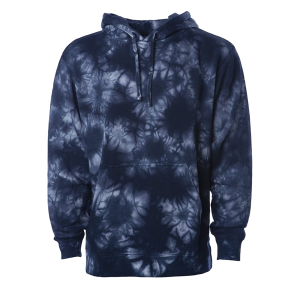 Independent Trading Co. Midweight Tie-Dyed Hooded Sweatshirt