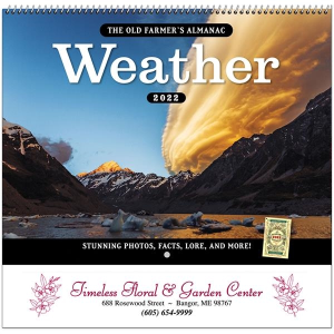 Old Farmer's Almanac® Weather Watcher's Calendar