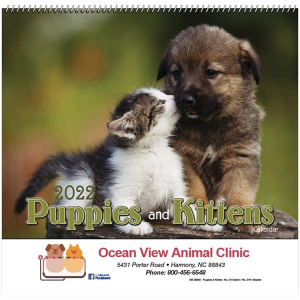 Puppies and Kittens Calendar